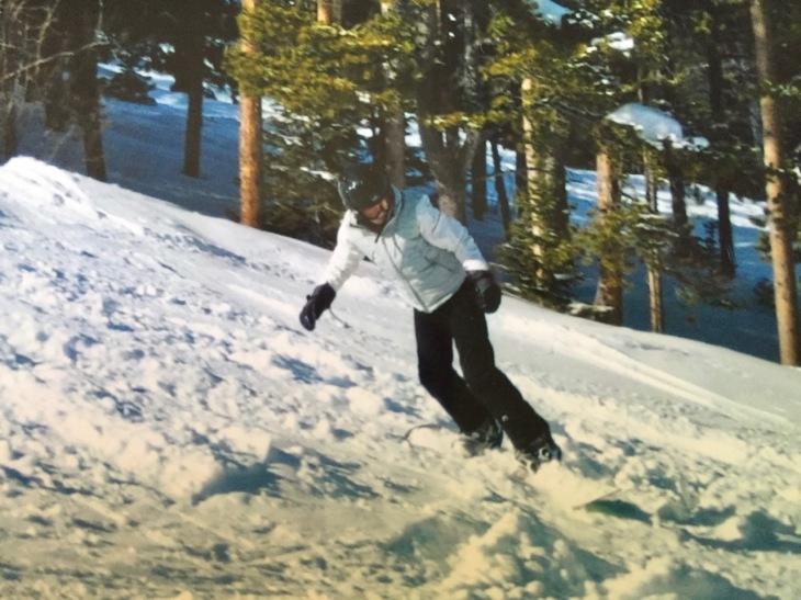 mel-snowboarding